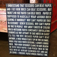 rock-paper-scissors rant