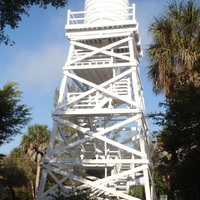 Cabbage Key wooden water tower