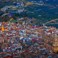 Jaen Andalusia, real life Lego city?